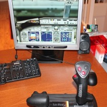 November 2012 - 1 monitor & 1 Joystick