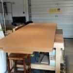 Platform Initial wood pile